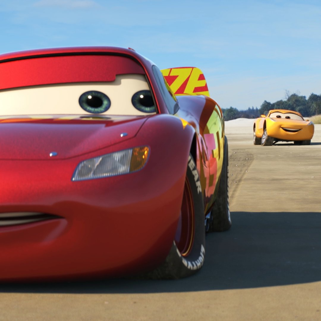Gearing up for the road to victory! 🏁 See #Cars3 on June 16.