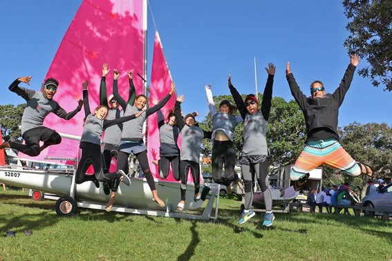 Young sailors shine in NZ comp