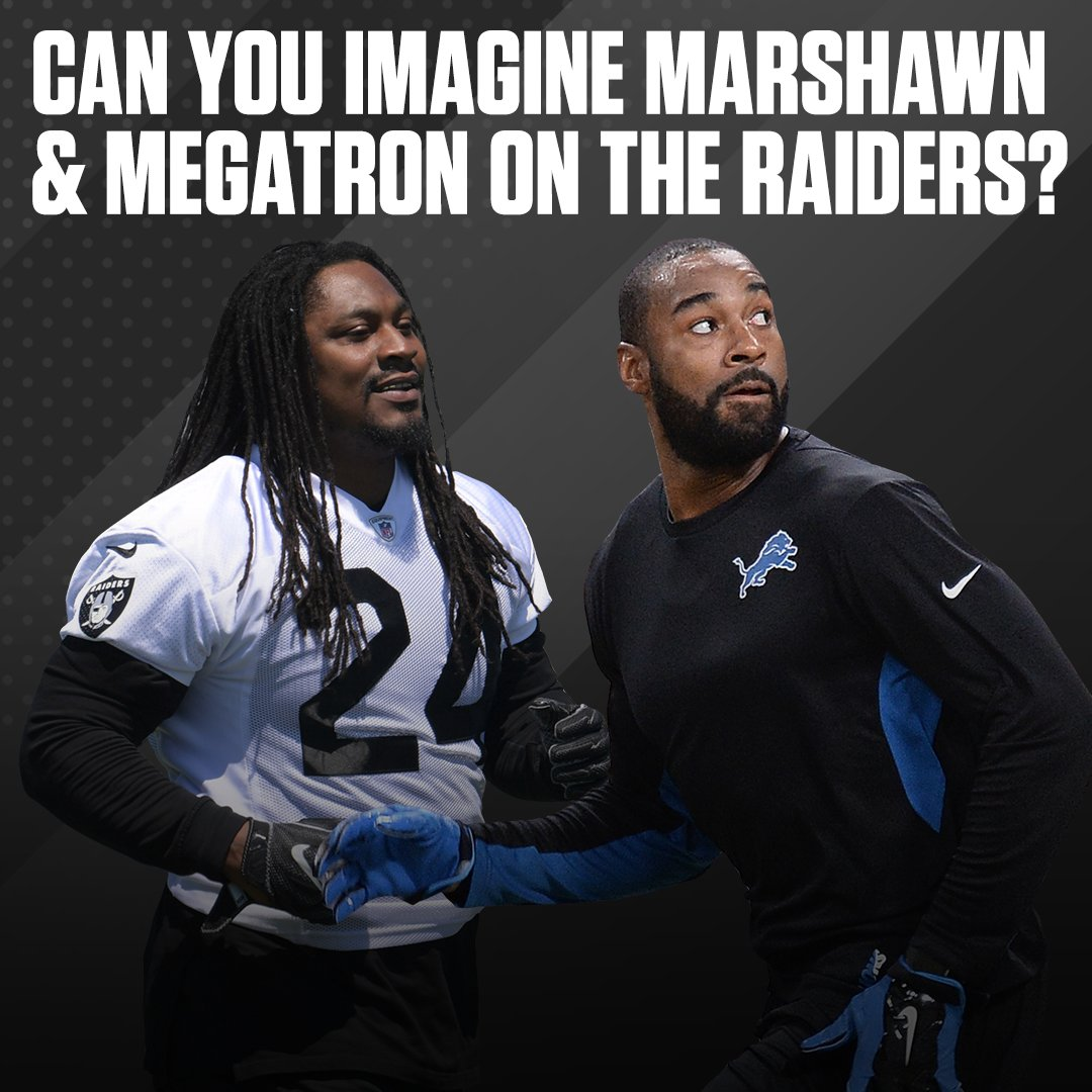 Calvin Johnson has been working with the Raiders in an advisory role this week. It got us thinking…