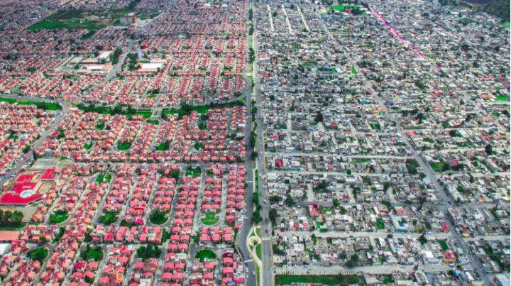 'Unequal Scenes' así se ve la desigualdad social desde el aire En @YorokobuMag