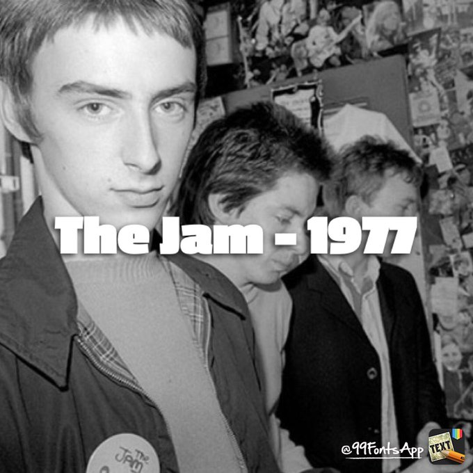 A Man for all seasons. Happy birthday to Paul Weller.