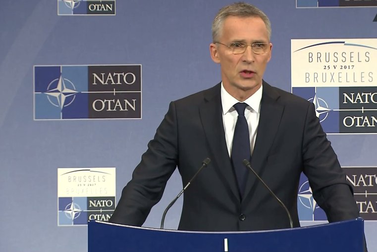 WATCH LIVE: Trump has been clear on his commitment to NATO – Stoltenberg