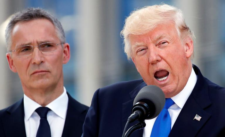 Trump directly scolds NATO allies, saying they owe 'massive' sums: