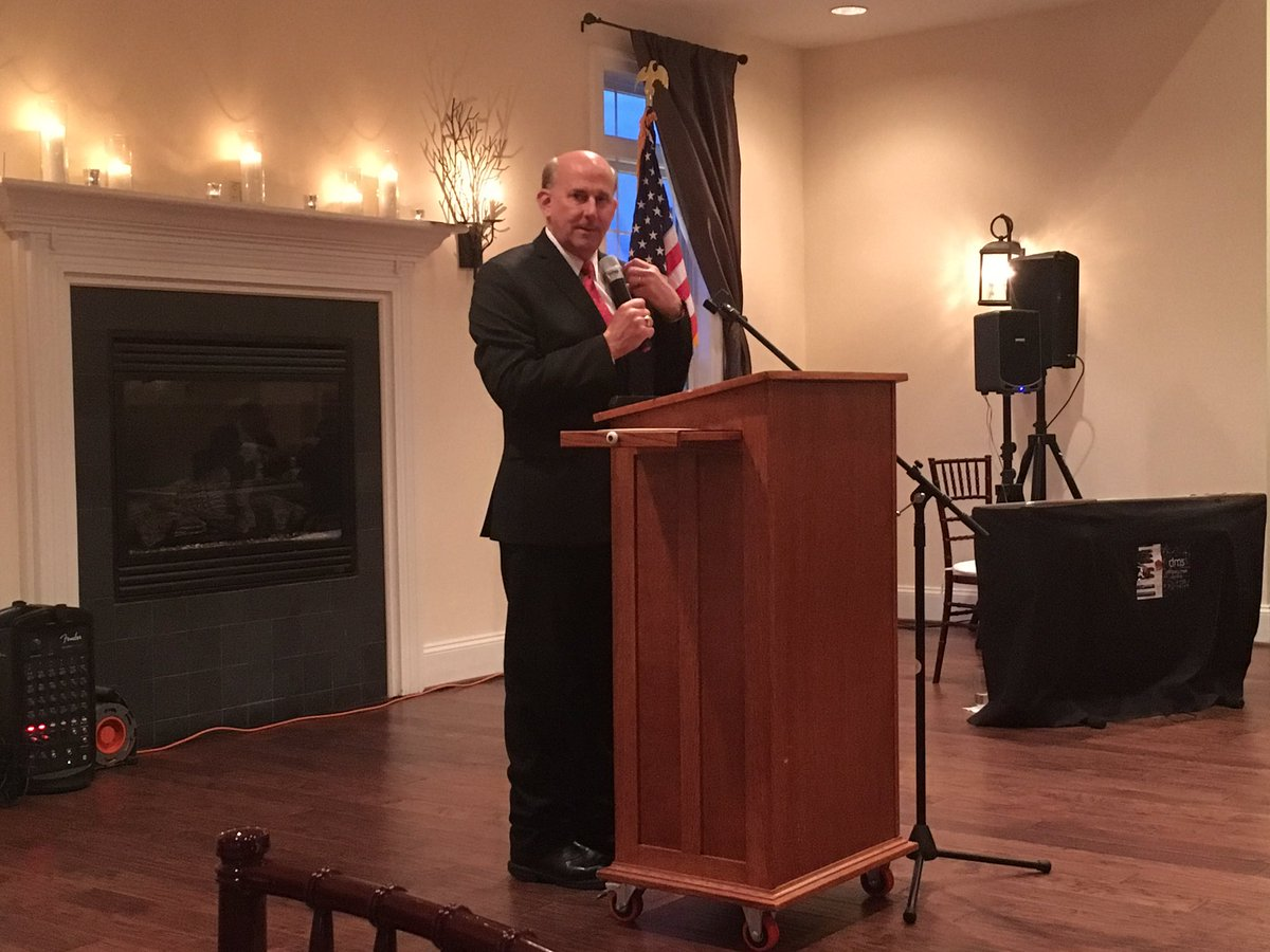 Was the featured guest speaker at the Spotsylvania County Republican Committee!