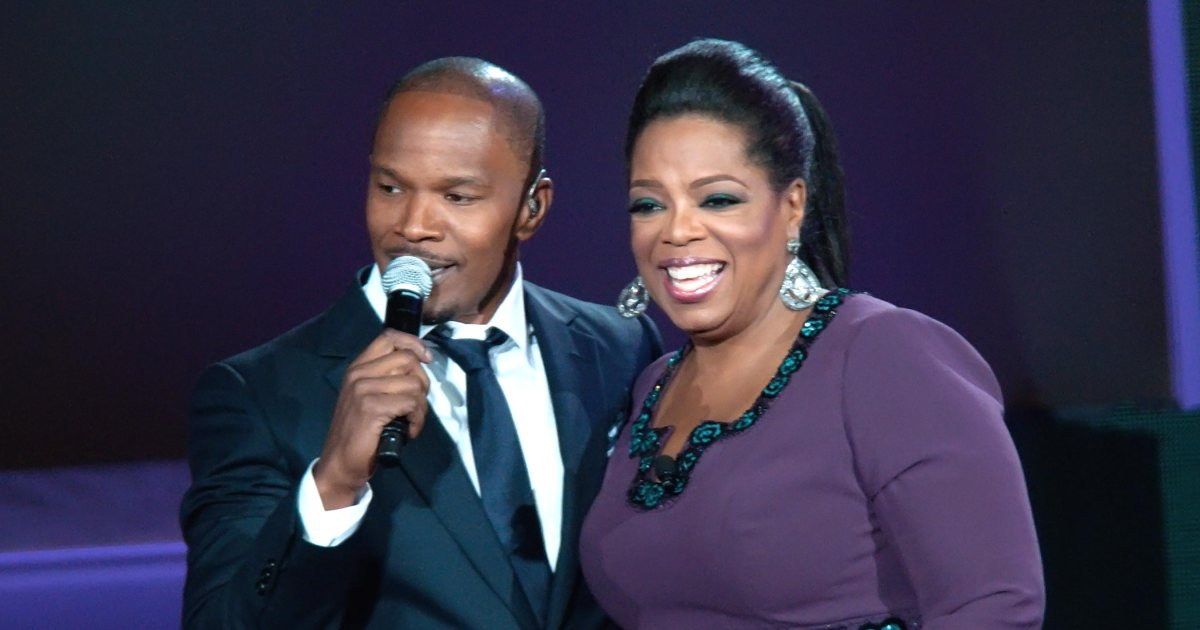 Jamie Foxx reveals that Oprah Winfrey once staged an intervention for him:
