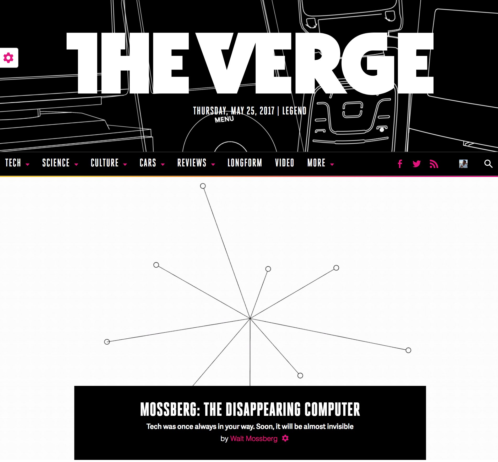 Update: @billiamjoel made the all-@waltmossberg Verge home page even cooler. https://t.co/T3J1t0XXUU