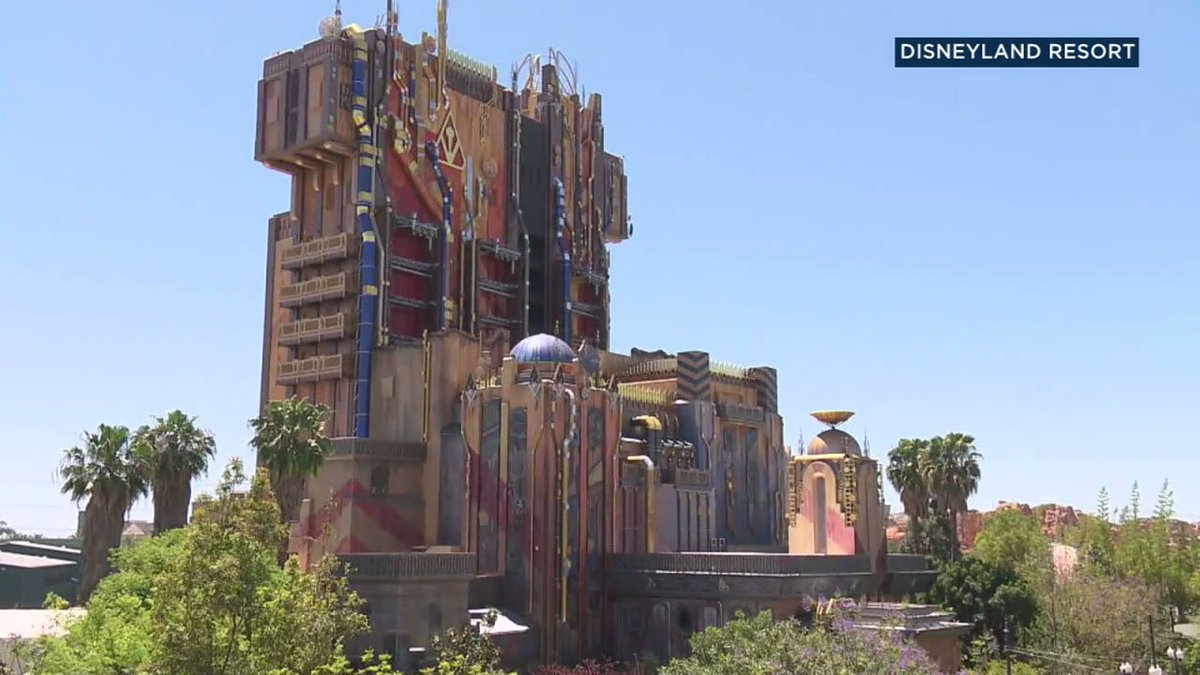 """Guardians of the Galaxy"" free-fall ride debuts Saturday at Disney's California Adventure"