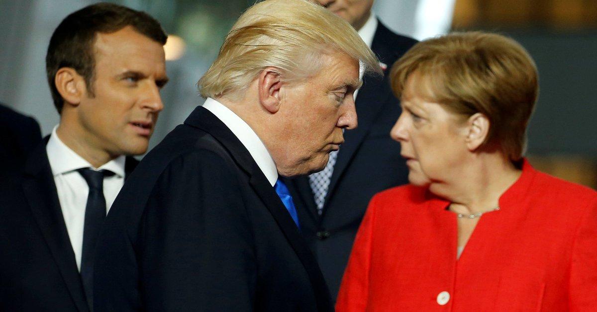 "Trump reportedly called Germans ""very bad,"" vowed to stop German car sales in the U.S."