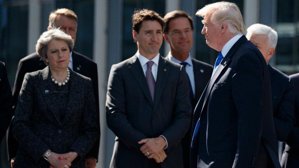 Trump's 'almost bullying' of NATO leaders awkward for Canada: analyst