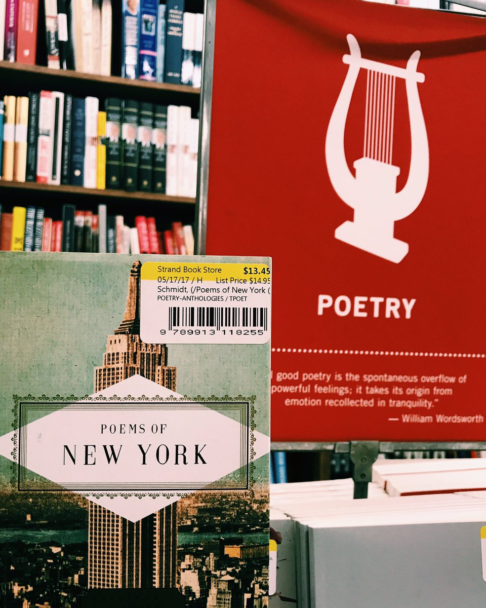 test Twitter Media - Rainy days and poetry sections •• 📝☔️🏙 Who's excited for our 2 days of fun in the SUN at #NYCPOFEST in July? #Poetry #NYC #Festival 🌞 https://t.co/RPf4lvoMZg