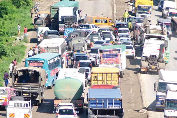 Motorists count losses in Mombasa highway gridlock