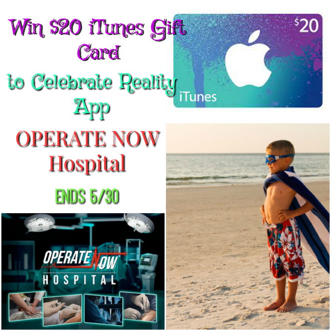 $20 iTunes Gift Card GA-1-US-Ends 5/30