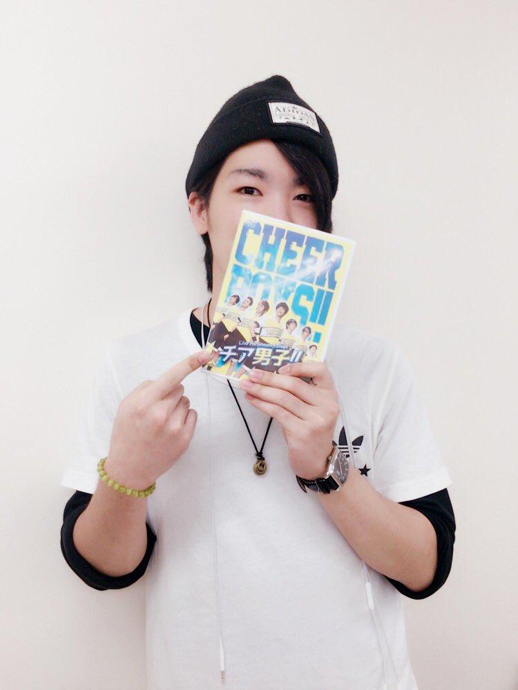 チア男子 DVD!!本日から発売!!早く見たい!!#チアステ