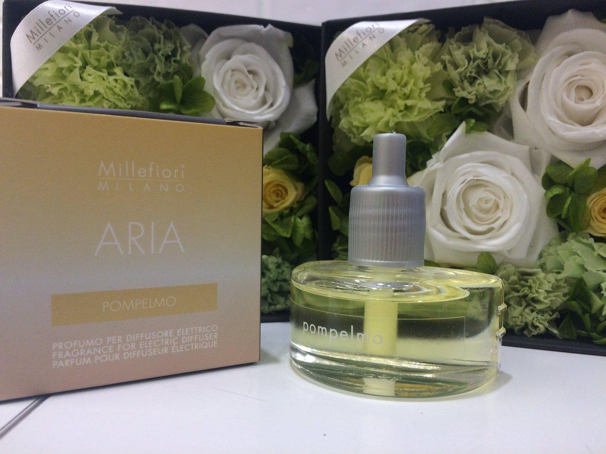 南館8階〈ミッレフィオーリ Millefiori〉新商品「ARIA(アリア)」が入荷しました。コンセントに差すだけで気軽