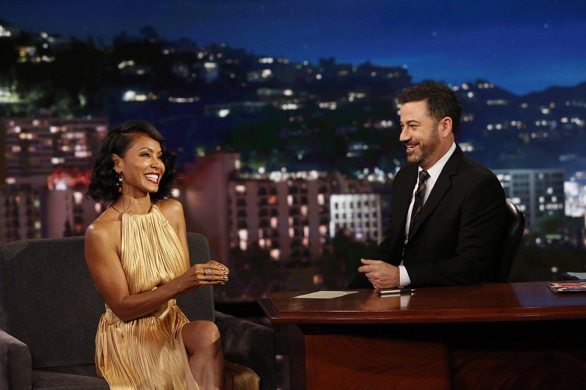 Always a fun time with @JimmyKimmel. Watch us tonight! #Kimmel #Gotham https://t.co/wwnklubU8L