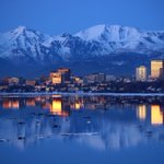 Hail, heavy showers and even snow reported in Anchorage