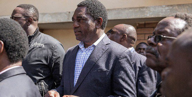 Zambia bars S.Africa opposition leader at airport
