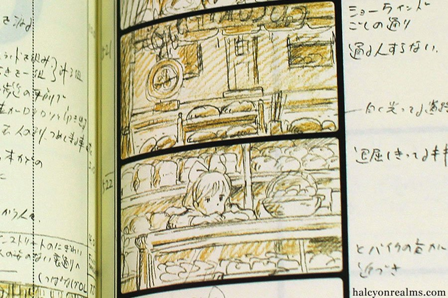 Storyboards for Kiki's Delivery Service 魔女の宅急便 (1989) #Anima