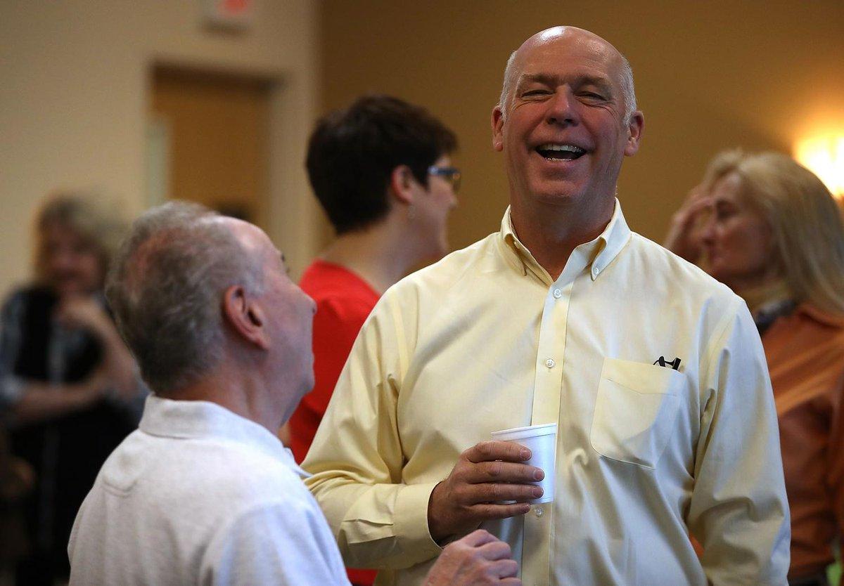 US Republican lawmaker Greg Gianforte wins Montana special election despite assault charge
