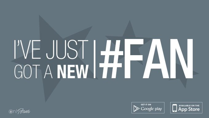 I've just got a new #fan! Get access to my unseen and exclusive content at https://t.co/bb6wB1aHL4 https://t