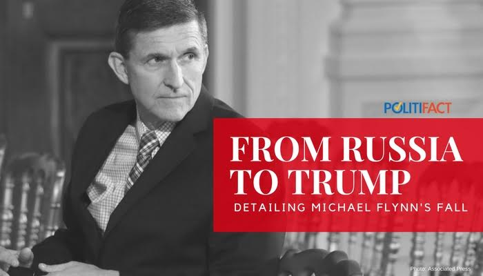 Here's a list of what Michael Flynn did, and when before his White House ouster