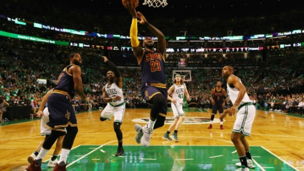 Cavaliers crush Celtics to book NBA title clash with Warriors