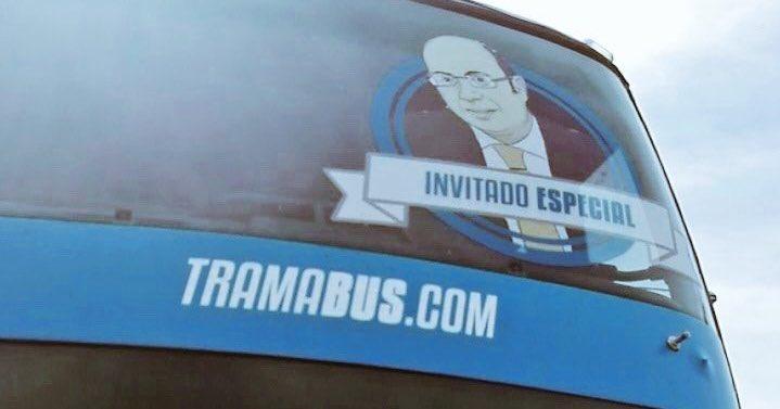 Pedro Antonio Sánchez, imputado por el caso Púnica. Decían tantas cosas del Tramabús... 📸👇