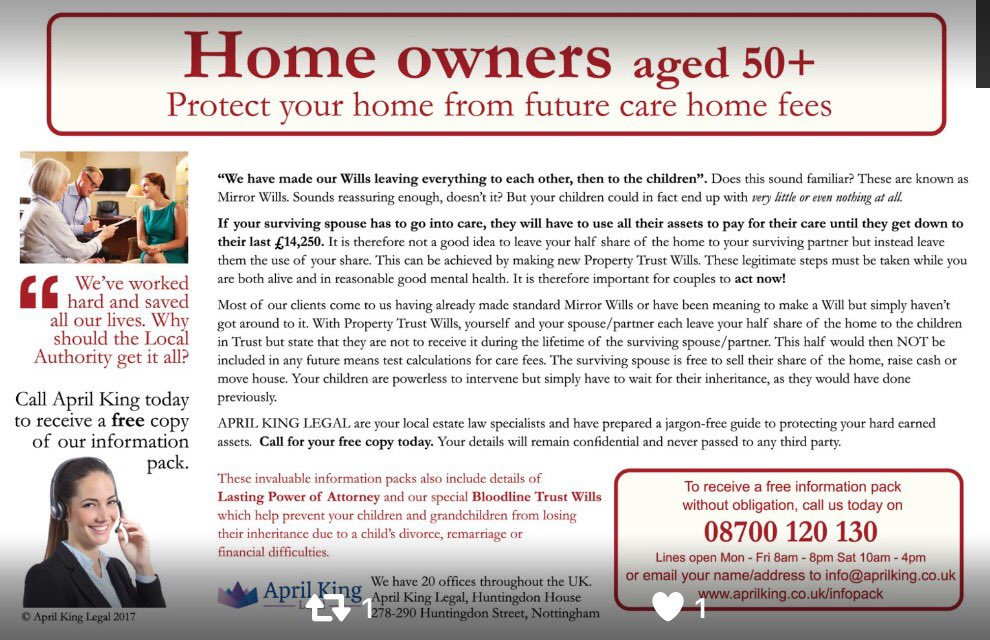 test Twitter Media - Care fees & the #Manifesto We explain how to protect your home from future care costs #Wills #Trusts   https://t.co/RfK1b3aRjj https://t.co/VVDHy0sJlo