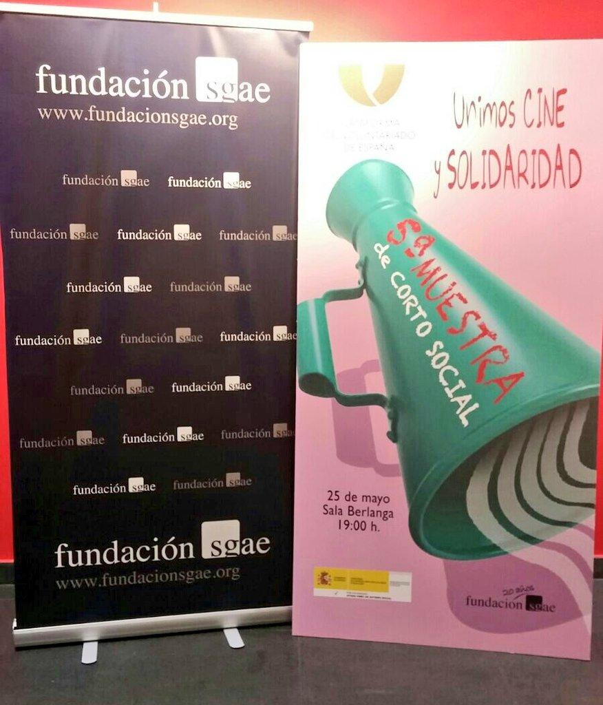 test Twitter Media - 🎬🎥 Ayer estuvimos en la #VMuestraCortoSocial de @pvoluntariado y @fundacionsgae. Una gran tarde por el voluntariado #CineySolidaridad https://t.co/RrSqkGgN4q