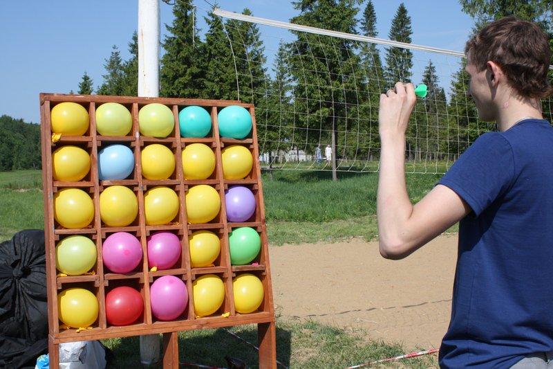Лопни шарик своими руками