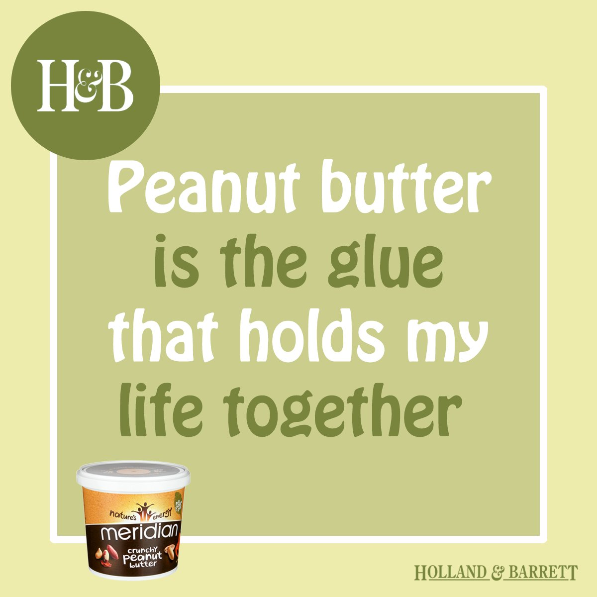 Ah, @MeridianFoods peanut butter. How we love thee. Hands up if you agree! 🙋 https://t.co/7eC9RVkrFu https://t.co/8mqt2NIvLl