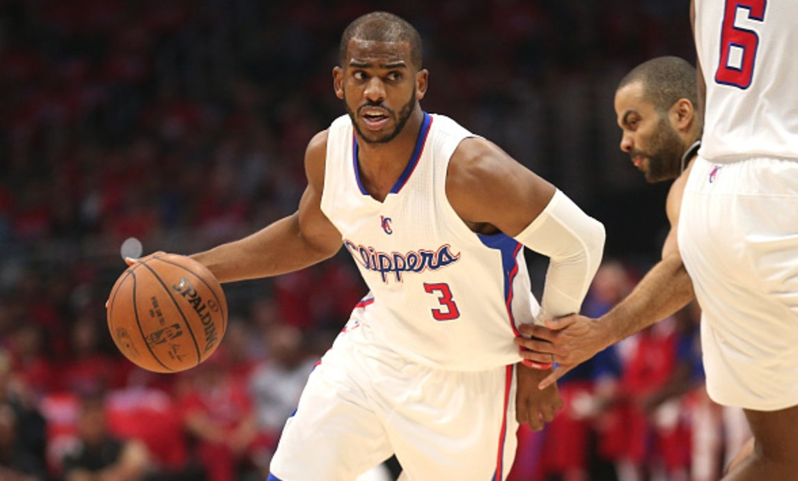 Spurs' pursuit of Chris Paul is a real concern for Clippers, per @ESPNSteinLine