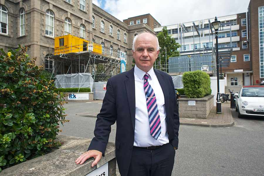 Hospital project start 'remains on schedule'