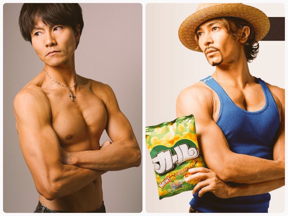 被写体のお仕事した写真がたまたま武田真治さんのに似てて、その年初めてコミケでネタコスしたよ(^^)>RTPhoto
