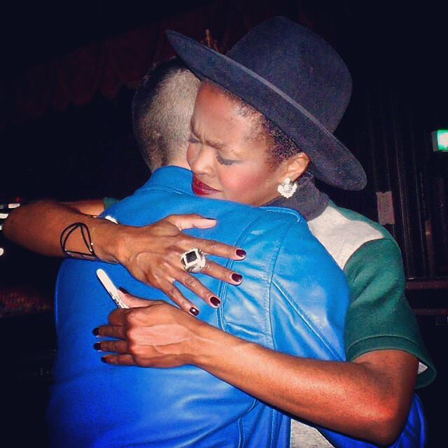 HAPPY BIRTHDAY MS LAURYN HILL.  Thank you for giving me one of the most greatest moments in my life.