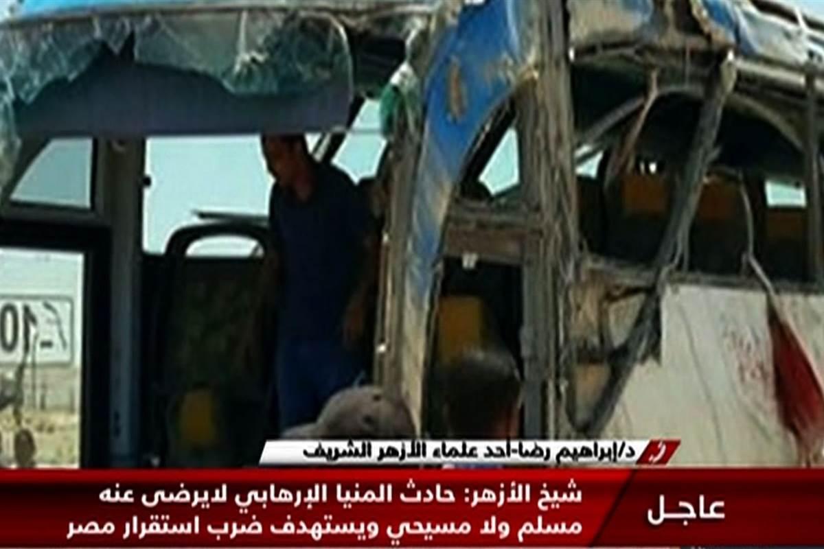 Masked gunmen kill 26 Christians heading to a monastery in Egypt