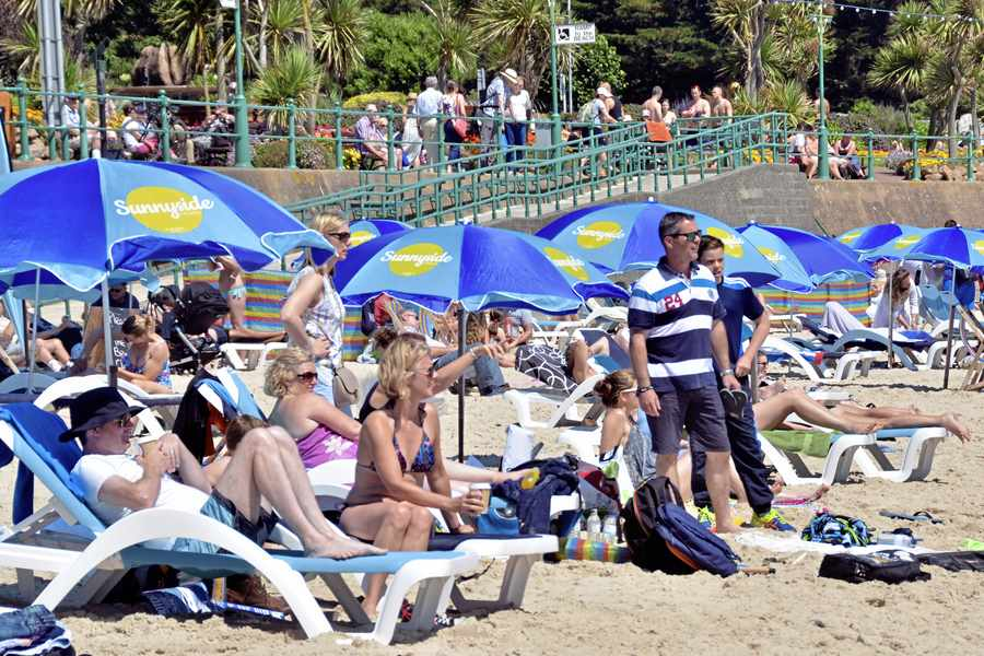 Visitor numbers down for first quarter of year
