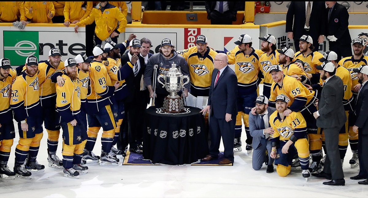 Catfish, Tall Boys And Country Music: How Stanley Cup Final-bound Predators Took Over Football-loving Nashville