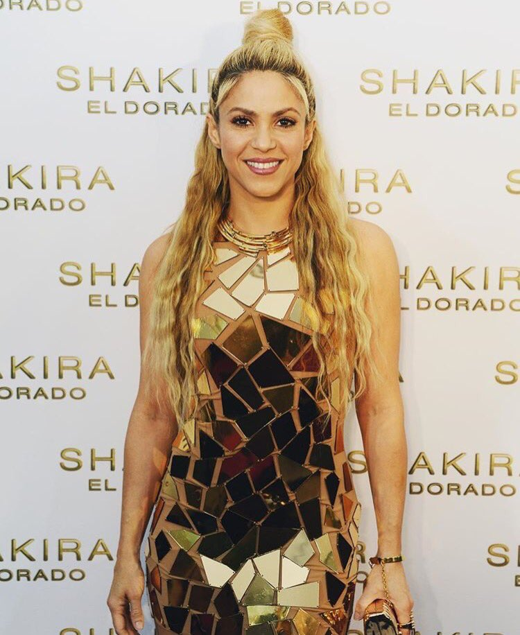 Number 1 in 34 countries with El Dorado!!! How can I thank you all for giving me so much?? Shak https://t.co/lIBmr2lEDi