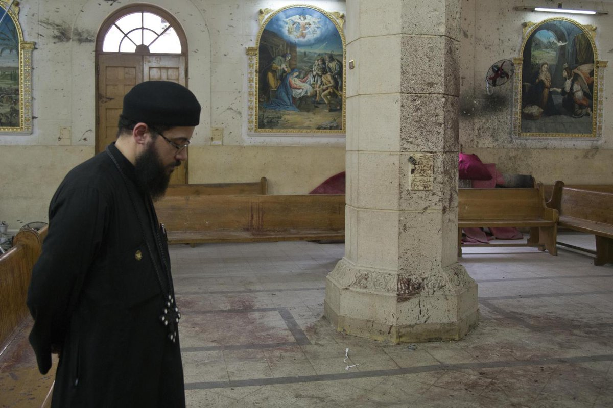 """Egypt's persecuted Coptic Christians plead """"when will this all stop"""""""