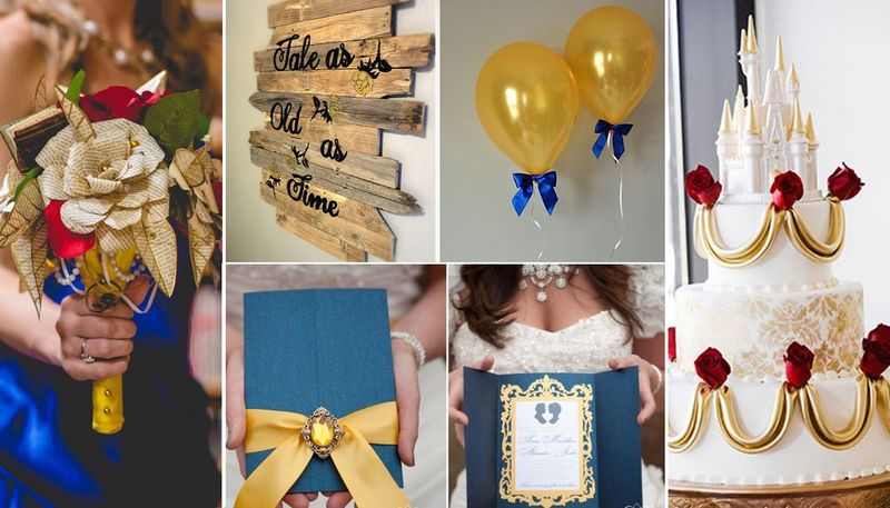 Wedding inspiration: Disney's Beauty and the