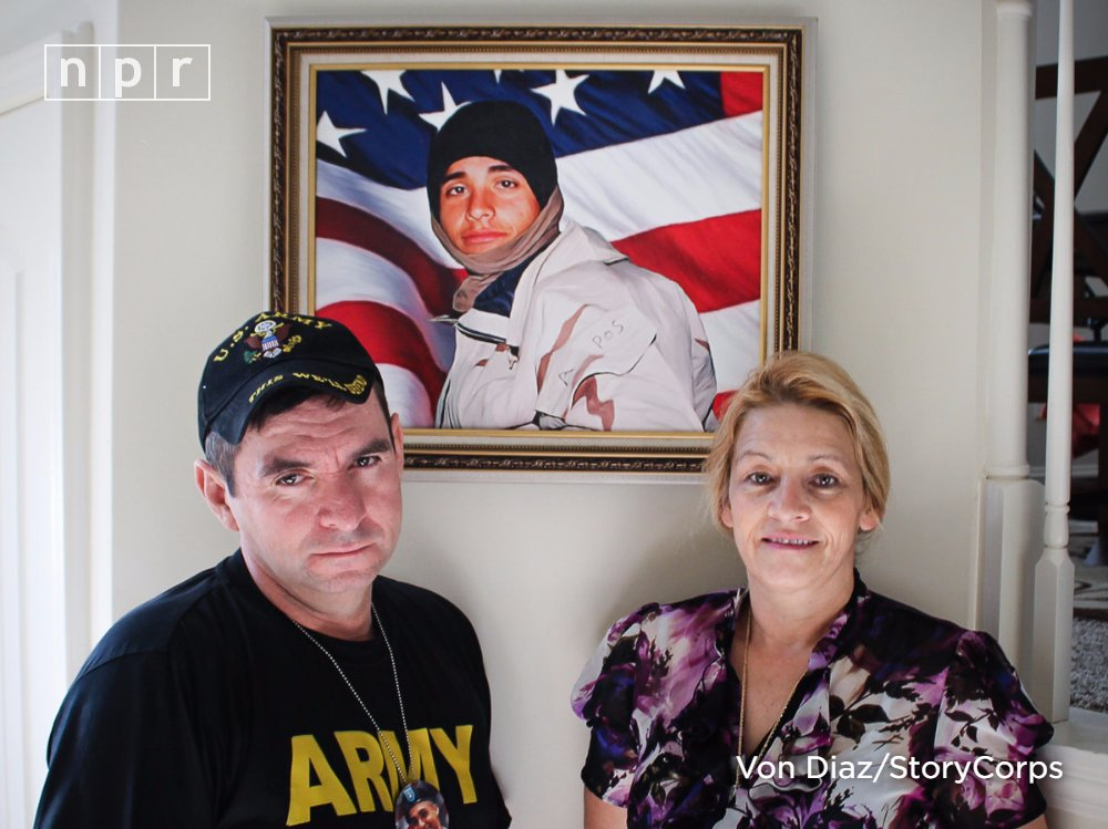 Remembering a soldier who died for his country before becoming a citizen (via @StoryCorps)