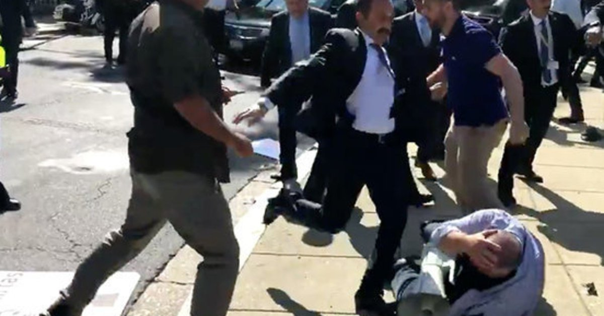 """House panel demands justice in """"savage"""" attack on U.S. protesters by Turkish leader's guards"""