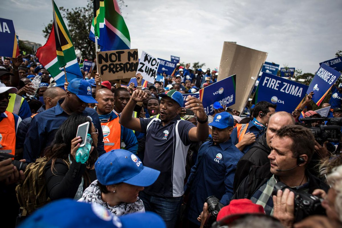 Zambia has blocked South Africa's opposition leader from entering the country