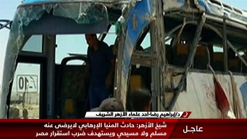 UPDATE: Death toll rises to 28 after gunmen attack bus carrying Coptic Christians in Egypt