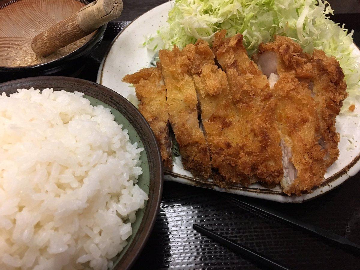 とんかつDJアゲ太郎の影響でとんかつ食べに松戸の三太さんに行きました。ギラギリで生きてるKAT-TUN、サクサクで揚げて