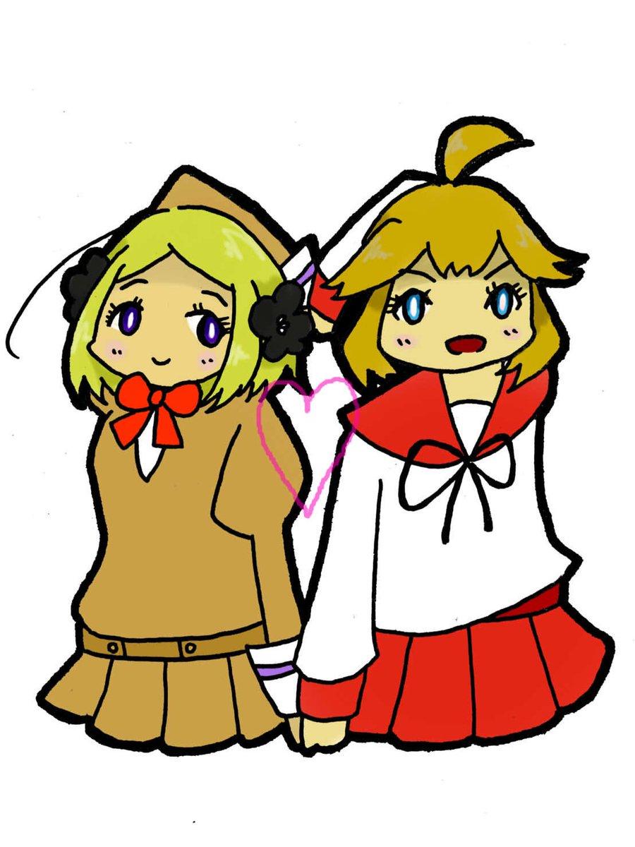 あいまいみーとソメラちゃん、この金髪コンビとピンク髪コンビ(別名にゃかやんコンビ)が大好きです