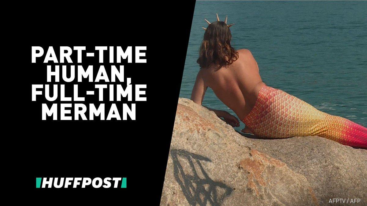 Meet Davi. He's Rio de Janeiro's resident merman. 🌊