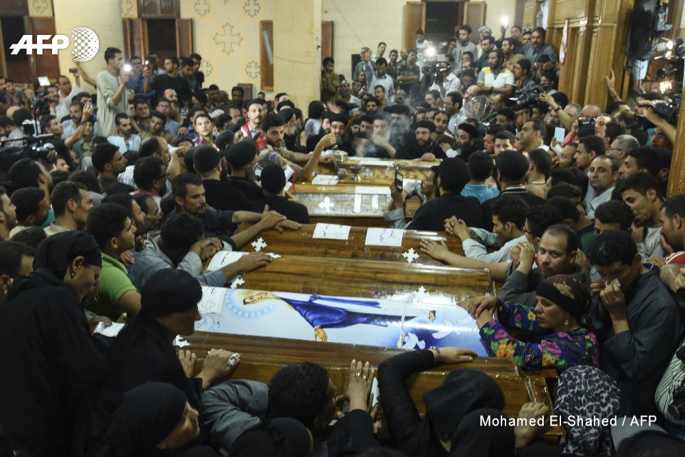 #UPDATE Egypt hits jihadists after attack on Christians kills 28