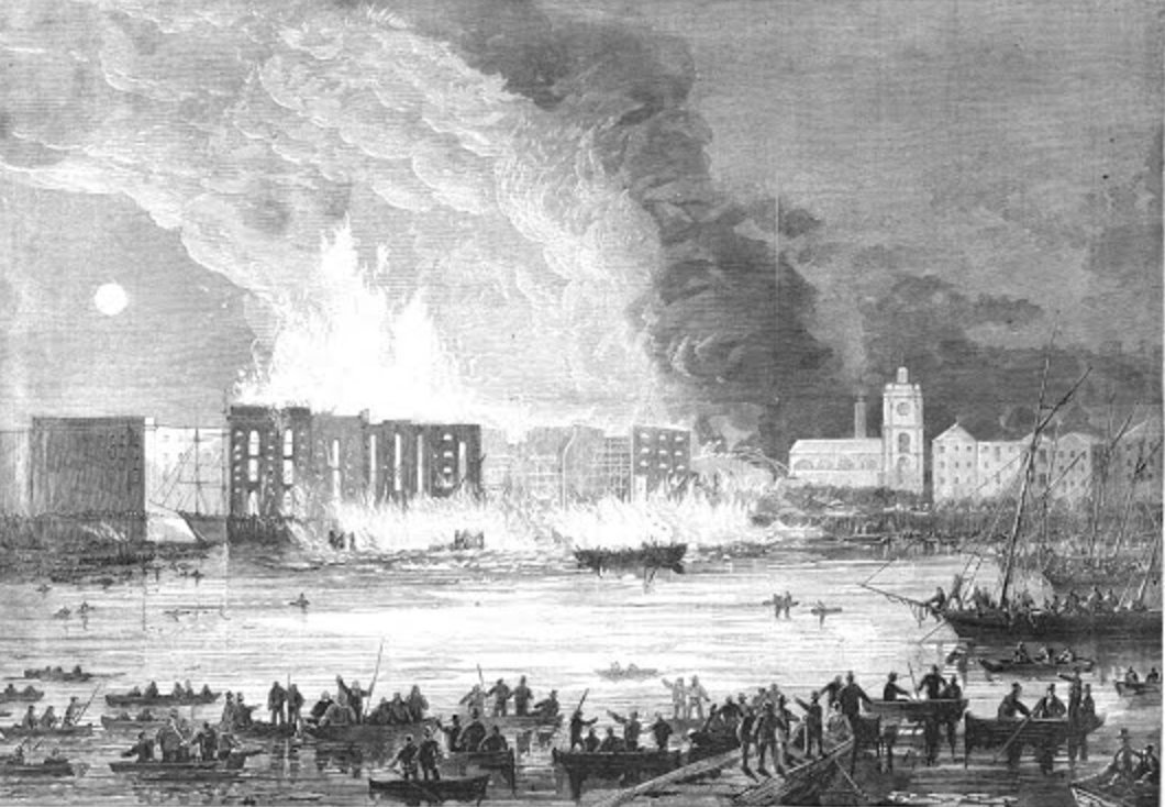 "test Twitter Media - ""They say nothing has been like it since the great fire of London"" – Craik's account of the 1861 Tooley Street Fire https://t.co/USX0i5hf6h https://t.co/NZguT1cqFV"